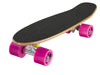 "Ridge 22"" Maple Wood Mini Cruiser Board: Number Three Dark Dye with 12 wheel colours"