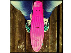 Mini Cruiser Board Skateboards von Ridge