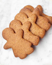 GF Gingerbread Cookies - Plain 5pc