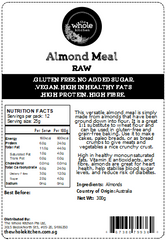 Almond Meal - Raw (300g)