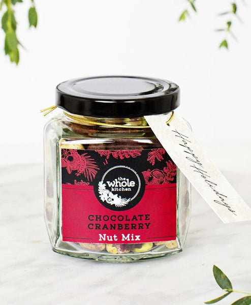 GIFT JAR - Chocolate Cranberry Nut Mix Bundle (130g) - 3 for $40