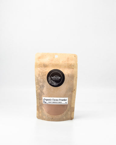 Organic Raw Cacao Powder - Unsweetened (80g)