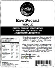 Raw Pecans - Whole (90g)
