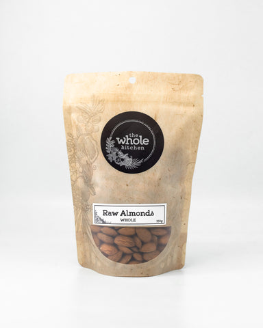 Raw Almonds - Whole (350g)