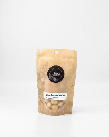 Raw Macadamias - Whole (100g)