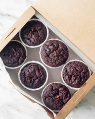 Mini GF Chocolate Muffins 6pcs