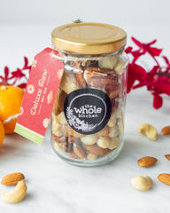 CNY Deluxe Raw Nut Mix Gift Jar - 190g