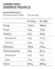 Cherry Choc Energy Pearls (Nut Free) 2pcs