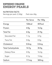 Espresso Orange Energy Pearls 12pcs
