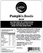 Raw Pumpkin Seeds (100g)