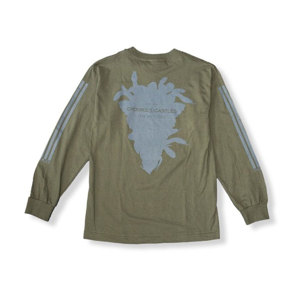 Crooks and Castles - Banding L/S T-Shirt - The Hidden Base