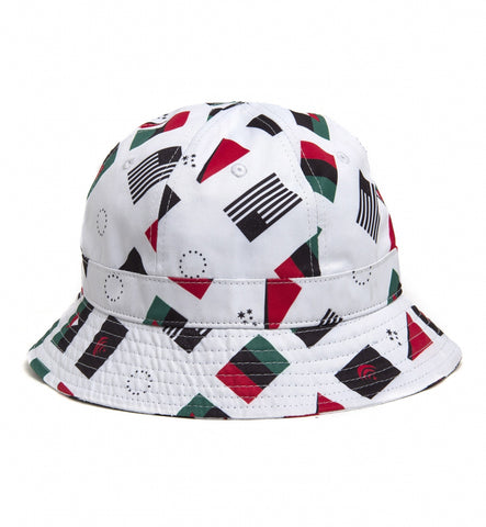 Black Scale - Flags Bucket Hat - The Hidden Base