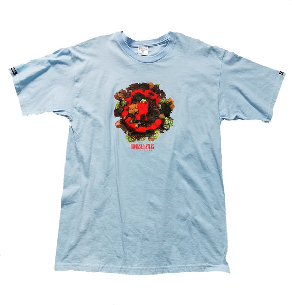 Crooks and Castles - Infamous Flower Tee - The Hidden Base