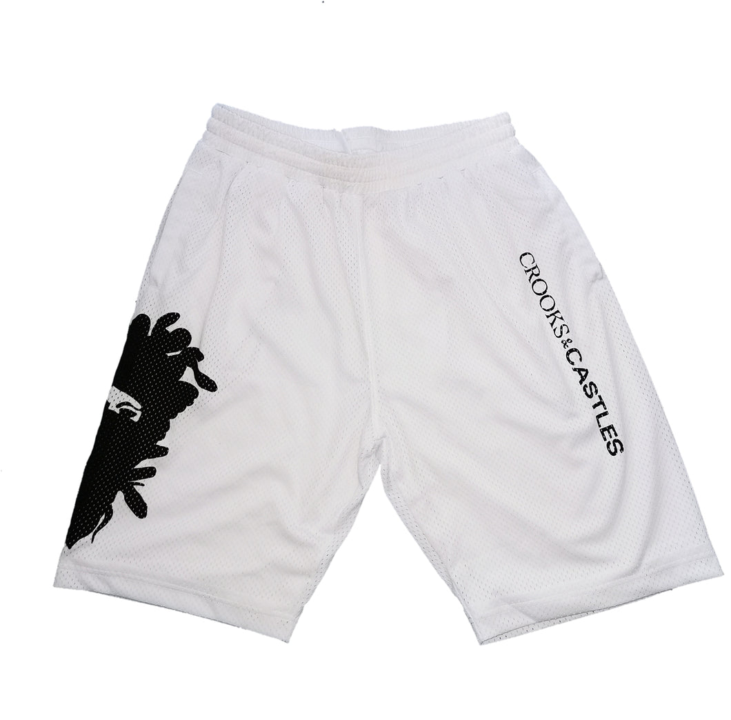 Crooks and Castles - Knit Basketball Shorts - The Hidden Base