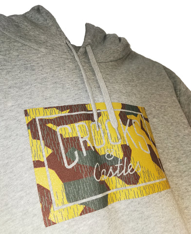 Crooks and Castles - Storm Camo Hoodie - The Hidden Base