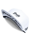 Profit x Loss - White Leather Strapback - The Hidden Base