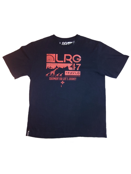 LRG - Black Giraffe Tee - The Hidden Base