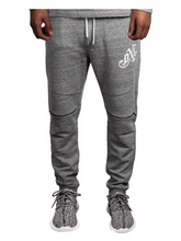 Load image into Gallery viewer, Profit x Loss - Grey Monogram Trackpants - The Hidden Base