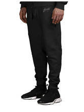 Load image into Gallery viewer, Profit x Loss - Script Biker Sweatpants - The Hidden Base