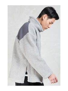 Magic Stick - Grey Classic Beast Turtle Pullover Fleece - The Hidden Base