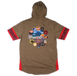 Reason Clothing - The Southwest Patchwork S/S Hoodie - The Hidden Base