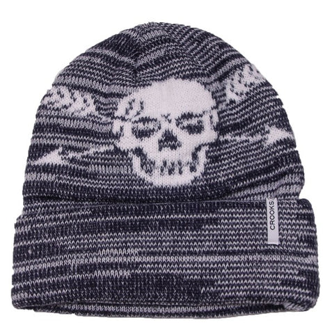 Crooks and Castles - Skull Cross Beanie
