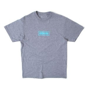 INDCSN - Strikethru Grey Tee - The Hidden Base