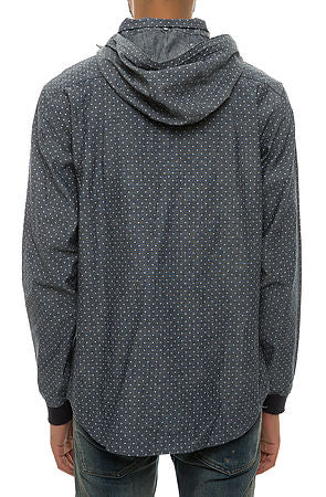 Diamond Supply Co - Marquise Hooded L/S Wind Shirt - The Hidden Base