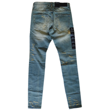 Load image into Gallery viewer, Embellish NYC - Blue Distressed Denim - The Hidden Base