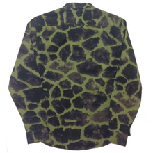 Load image into Gallery viewer, Black Scale - Green Camo Button Down Shirt - The Hidden Base