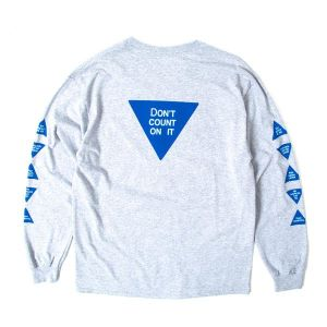INDCSN - Don't Count On It LS T Shirt - The Hidden Base
