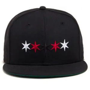 Black Scale - Hex Point Fitted - The Hidden Base