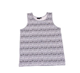 Black Scale - Scale of Black Tank Top - The Hidden Base