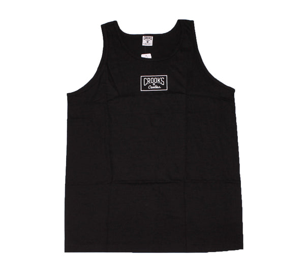 Crooks and Castles - Mini Box Logo Tank Top - The Hidden Base