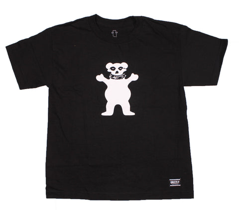 Grizzly Griptape - Fiend Club Tee (Youth Size) - The Hidden Base