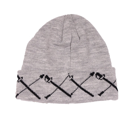 Black Scale - Swords Knit Beanie
