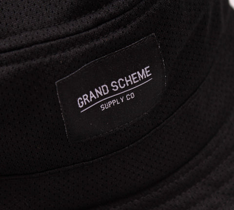 Grand Scheme - Mesh Bucket Hat - The Hidden Base