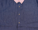 Black Scale - Millington Button Down Shirt - The Hidden Base