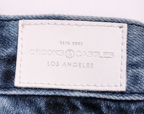 Crooks and Castles - Washed Denim Jeans - The Hidden Base