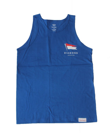 Diamond Supply Co - Flag Tank Top - The Hidden Base