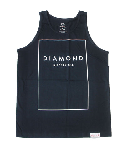 Diamond Supply Co - Square Tank Top - The Hidden Base