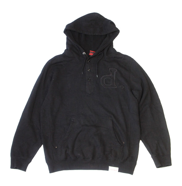 Diamond Supply Co - Button D. Hoodie - The Hidden Base