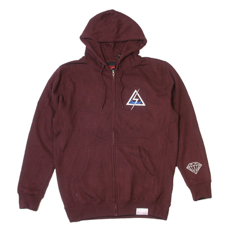 Diamond Supply Co - Light Bolt Zip Hoodie - The Hidden Base