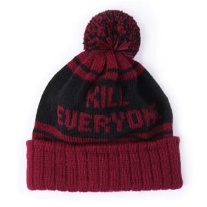 INDCSN - Maroon Kill Everyone Beanie