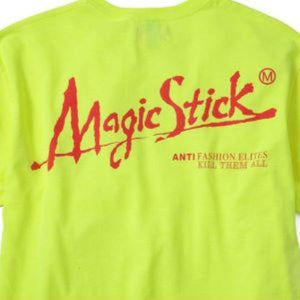 Magic Stick - Yellow Apocalypse Tee