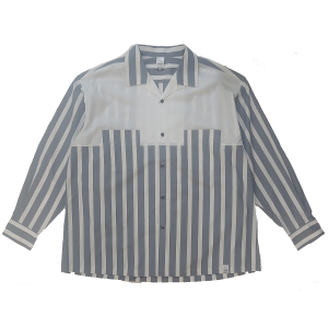 Magic Stick Clothing - Grey Stripe Shirt