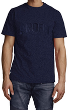 Load image into Gallery viewer, Profit x Loss - Block Profit Tee Navy - The Hidden Base