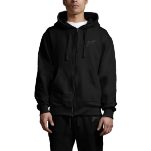 Profit x Loss - Black Zip Hoodie - The Hidden Base