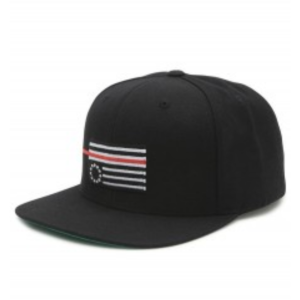Black Scale - Red Rebel Fitted - The Hidden Base