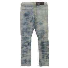 Load image into Gallery viewer, Embellish NYC - Lightwash Biker Denim